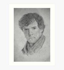 Sherlock Holmes - Sherlock (Drawing) Art Print