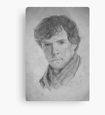 Sherlock Holmes - Sherlock (Drawing) Canvas Print