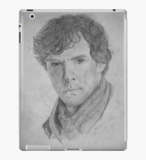 Sherlock Holmes - Sherlock (Drawing) iPad Case/Skin