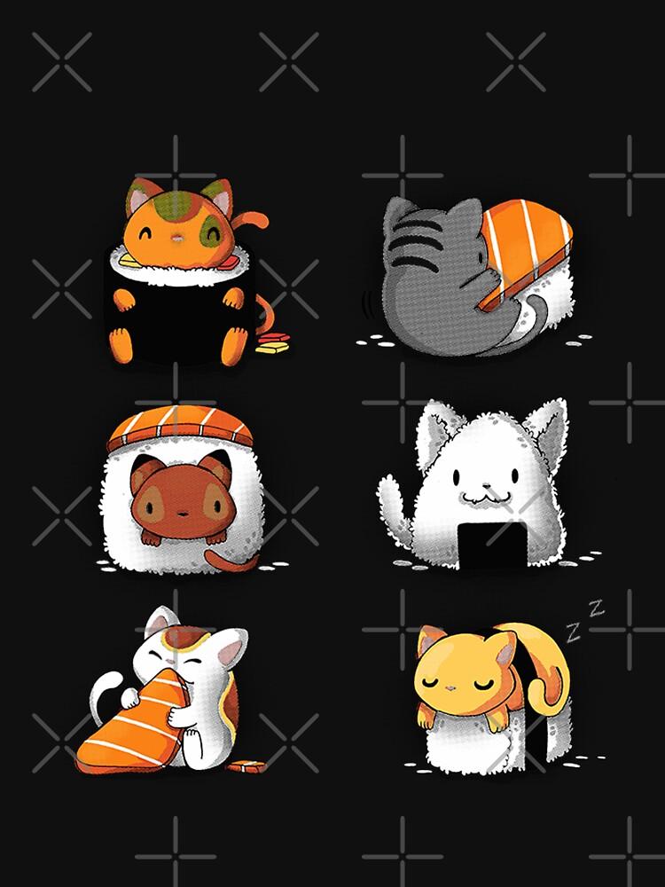 Süße Sushi Katzen von LunaBlueMom