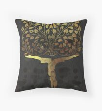 Asana Yoga Throw Pillow