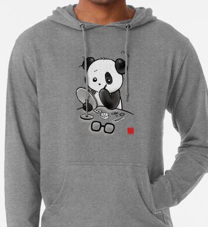 Panda Makeup Lightweight Hoodie