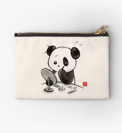 Panda Makeup Zipper Pouch