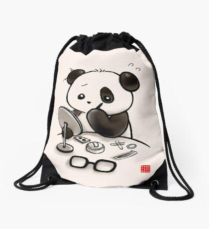 Panda Makeup Drawstring Bag