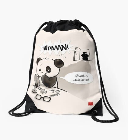 Woman! Drawstring Bag