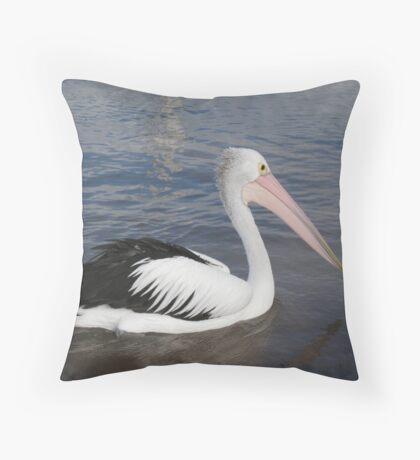 Hello Pelican - Rottnest  Island 3 Throw Pillow