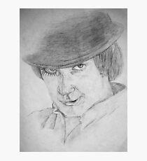 Alex DeLarge - A Clockwork Orange (Drawing) Photographic Print