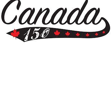 Kanada Swoosh 150 von TheFlying6