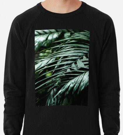 Tropische Blätter 03 Leichter Pullover