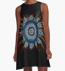 Aboriginal Art A-Line Dress
