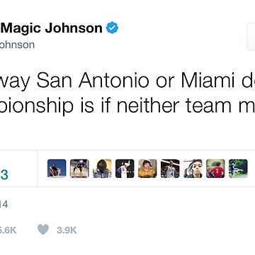 Magic Johnson - Captain Obvious by TeeTweets