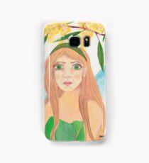 Wattle Nature Fairy Native Australia Samsung Galaxy Case/Skin