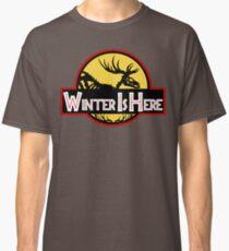 Winter Is Here Jurassic Fury Classic T-Shirt