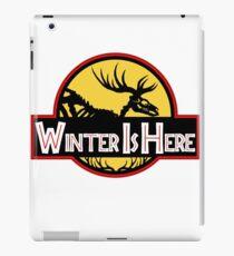 Winter Is Here Jurassic Fury iPad Case/Skin