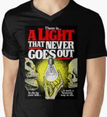 Da ist ein Licht T-Shirt mit V-Ausschnitt für Männer