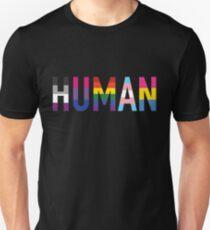 HUMAN Pride Unisex T-Shirt