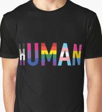 HUMAN Pride Graphic T-Shirt