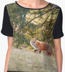 On the Prowl Women's Chiffon Top