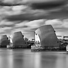 Thames Barrier by Delfino