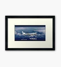 VARIG BOEING 747-400 Framed Print
