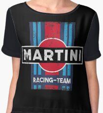 Martini Racing Team Retro Chiffon Top