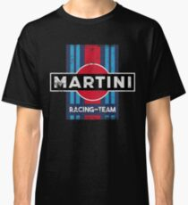 Martini Racing Team Retro Classic T-Shirt