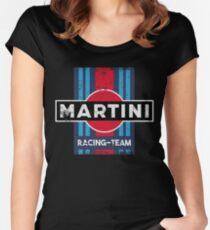 Martini Racing Team Retro Women's Fitted Scoop T-Shirt