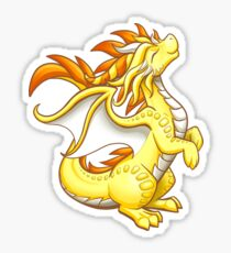 Sun Dragon Sticker