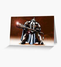 Dwarf Warrior Greeting Card