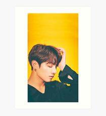 Jungkook HQ photoshoot Art Print