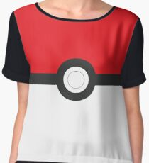 Poké ball! The Ball Collection! Chiffon Top