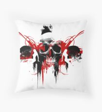 In Love and War Throw Pillow