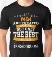 HORSE GROOM Unisex T-Shirt