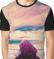 Watching the Waves Graphic T-Shirt