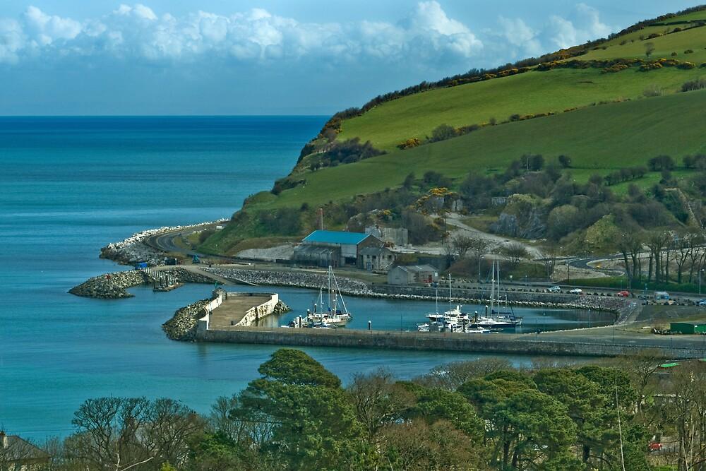 Glenarm Harbour by Michael Jordan