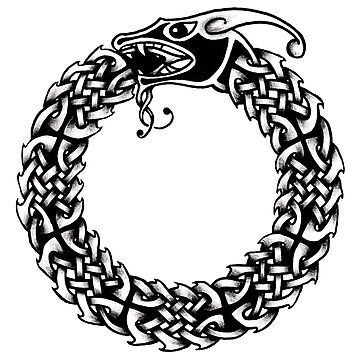 Celtic Ouroboros by IceFaerie