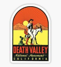 Death Valley National Monument Travel Decal Sticker