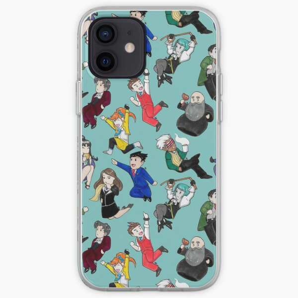 Ace Attorneys iPhone Soft Case