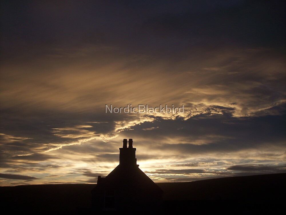 Old Manse in Honey by NordicBlackbird