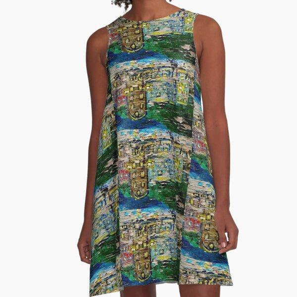 Neighborhood Reflections A-Line Dress