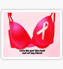 Breast cancer Women products Sticker
