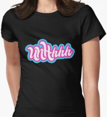 UNHhhh Womens Fitted T-Shirt