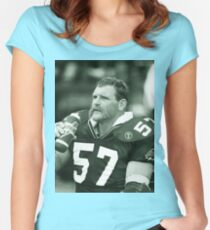 Bob Poley #57 Women's Fitted Scoop T-Shirt