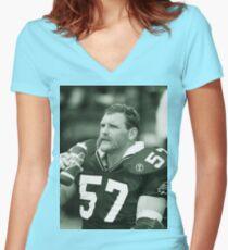 Bob Poley #57 Women's Fitted V-Neck T-Shirt