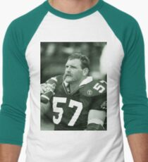 Bob Poley #57 Men's Baseball ¾ T-Shirt
