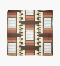 Piano keys with sheet music by Kristie Hubler Scarf