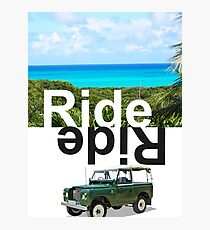 Ride Bahamas Photographic Print
