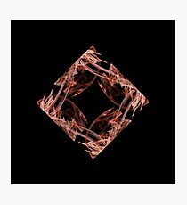 Fractal - 0002 - Four Points Photographic Print