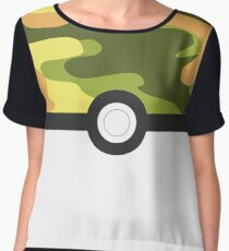 Safari ball! The ball Collection! Chiffon Top