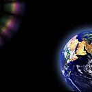 Earth Globe Space by Henrik Lehnerer